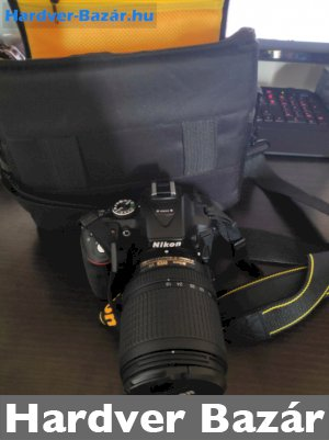 Nikon D5300 fényképezőgép kit (18-140mm) eladó