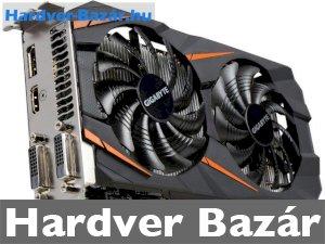 GIGABYTE GeForce GTX 1060 WINDFORCE OC 3GB GDDR5 192bit PCIe (GV-N1060WF2OC-3GD) Videokártya   eladó
