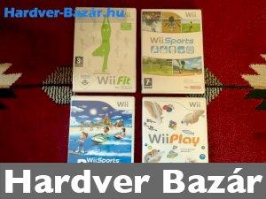 Nintendo Wii játékok eladó
