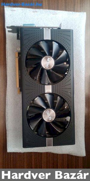 SAPPHIRE RX 580 4 GB NITRO+ PRÉMIUM VGA eladó