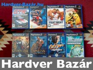 PS2 8db játék eladó