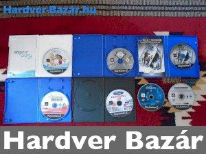 7 darab PS2 játék eladó