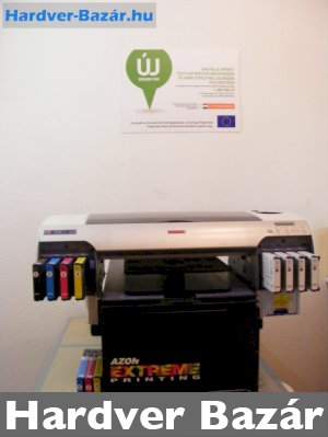 Azon Texpro A2Plus direkt textilnyomtató pólónyomtató új Epson fejjel eladó