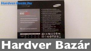 Samsung 850 PRO 256GB  SSD eladó
