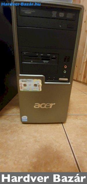 Acer-pc nagytárhelyel eladó