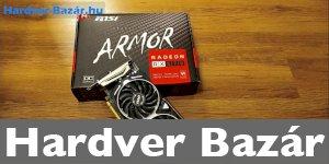 MSI Armor RX 570 8GB DDR5 256bit OC Kiadás! eladó