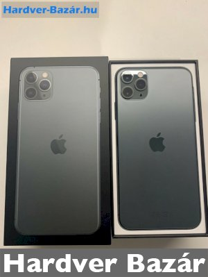 Apple iPhone 11 Pro Max - 64GB - Midnight Green  eladó