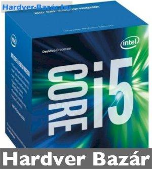 Intel Core i5-6500 BOX Edition (hűtővel) Processzor   eladó