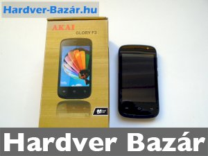 AKAI Glory F3 dual sim mobil eladó