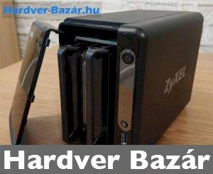 NAS - Zyxel NSA 325 V2 - médiakiszolgáló 2 HDD-s + USB 3.0 port   eladó