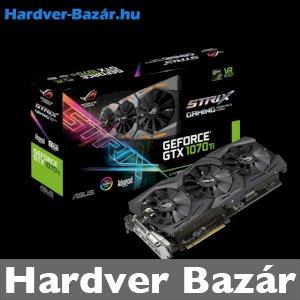 ASUS ROG Strix GeForce GTX 1070 Ti Advanced edition 8GB GDDR5 eladó