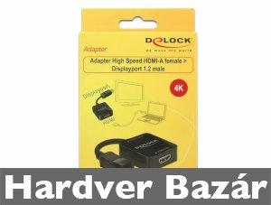 DeLock 62712 HDMI-A anya -> Displayport 1.2 apa adapter  eladó