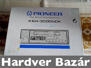 Pioneer autórádió eladó