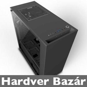 NZXT S340 ELITE (fekete) AJÁNDÉK 14cm-es ARGB CoolerMaster ventivel eladó