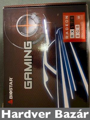 BIOSTAR RX 570 8GB eladó